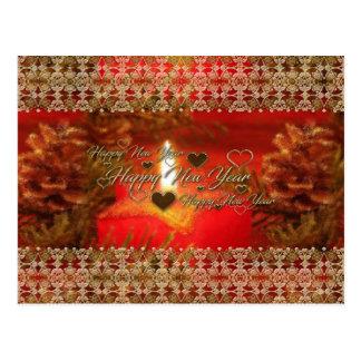 Guten Rutsch ins Neue Jahr-Karte Postkarte