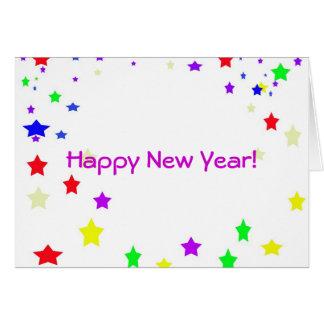 Guten Rutsch ins Neue Jahr! Mitteilungskarte