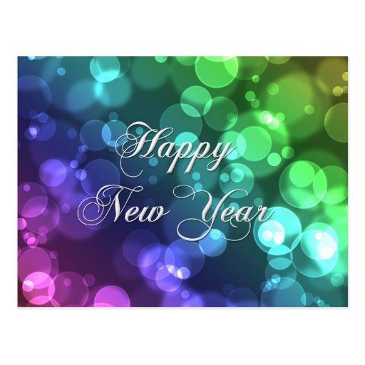 Guten Rutsch ins Neue Jahr-Postkarte