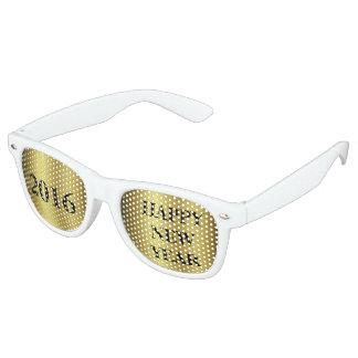 Guten Rutsch ins Neue Jahr Retro Sonnenbrillen