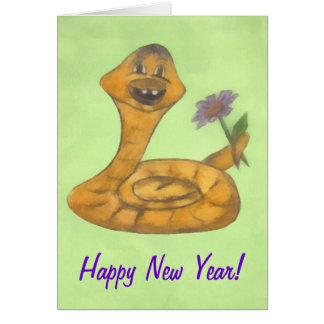 Guten Rutsch ins Neue Jahr, Schlange Karte