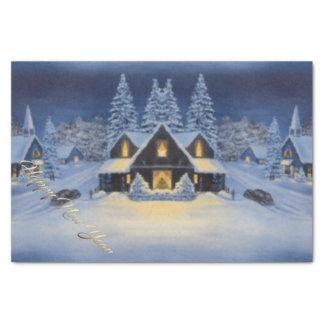 Guten Rutsch ins Neue Jahr-Serviette Seidenpapier
