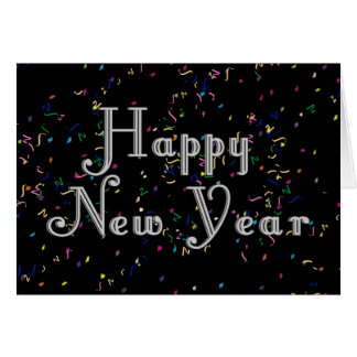 Guten Rutsch ins Neue Jahr-Text-Entwurf Grußkarte