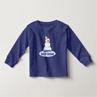 Guten Rutsch ins Neue Jahr vom feiernden Kleinkind T-shirt