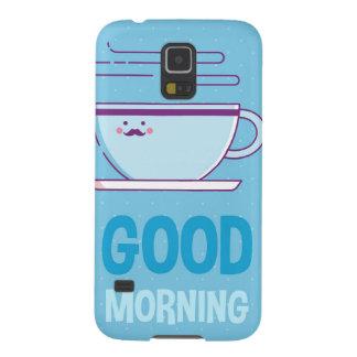 Gutenmorgen-Kaffee-Süchtige Galaxy S5 Hülle