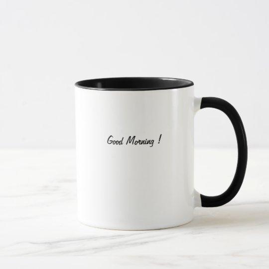 Gutenmorgen-Kaffee-Tasse! Tasse