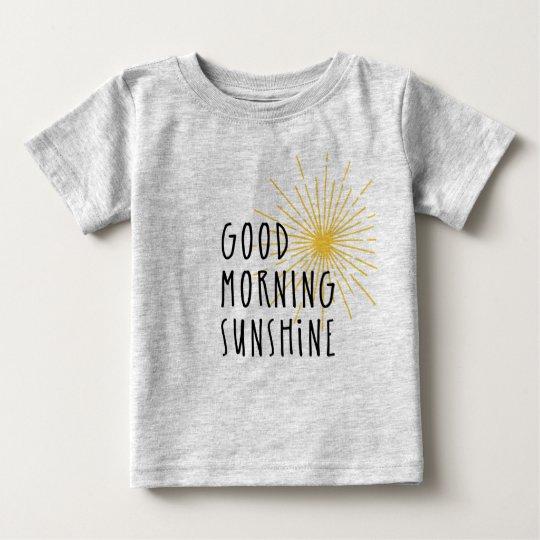 Gutenmorgen-Sonnenschein Baby T-shirt