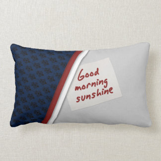 Gutenmorgen-Sonnenschein-Kissen Lendenkissen