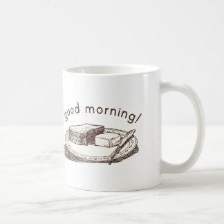 Gutenmorgen-Toast Kaffeetasse