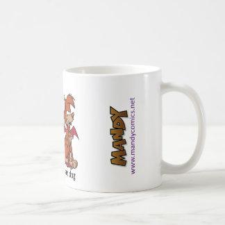 Guter Hund, schlechte HundeTasse Kaffeetasse