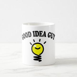 Guter Ideen-Typ Kaffeetasse