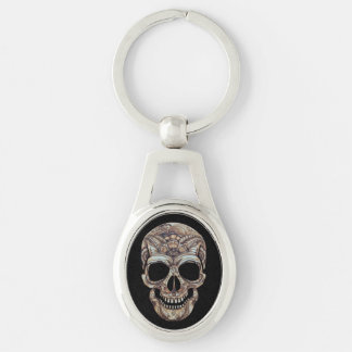 Guter Tod Keychain - Oval Schlüsselanhänger