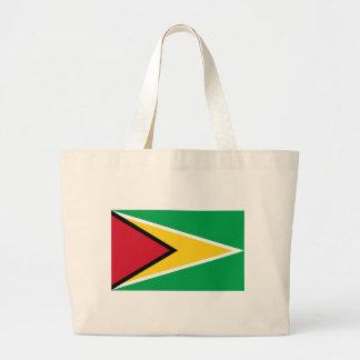 Guyana-Flagge Jumbo Stoffbeutel