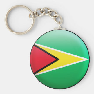 Guyana-Flagge Schlüsselanhänger