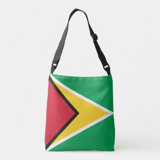 Guyana-Flagge Tragetaschen Mit Langen Trägern