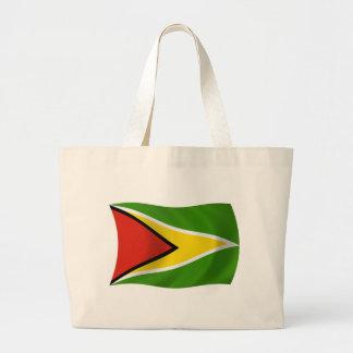 Guyana-Flaggen-Taschen-Tasche Jumbo Stoffbeutel