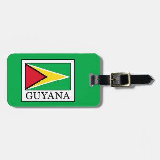 Guyana Gepäckanhänger