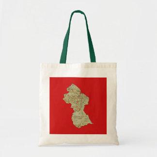 Guyana-Karten-Tasche Tragetasche