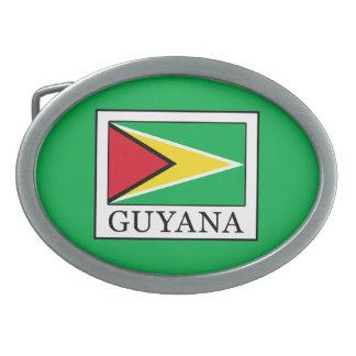 Guyana Ovale Gürtelschnallen