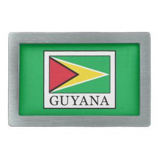 Guyana Rechteckige Gürtelschnalle
