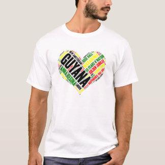 Guyana-Unabhängigkeits-Feier-T-Shirt T-Shirt