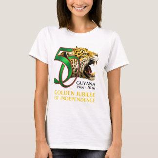 Guyanas 50. Unabhängigkeits-Shirt T-Shirt