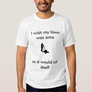 guymowinglawn, je souhaite que ma pelouse ait été t shirt