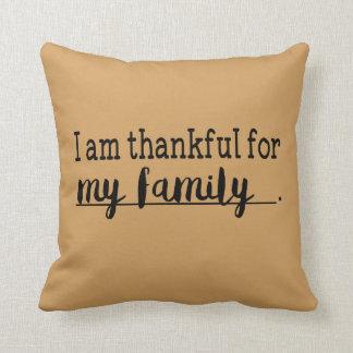 GY-Erntedank-Dankbarkeits-Familien-Kissen Kissen