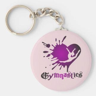 Gymnastik-Herz platsches Keychain Schlüsselanhänger
