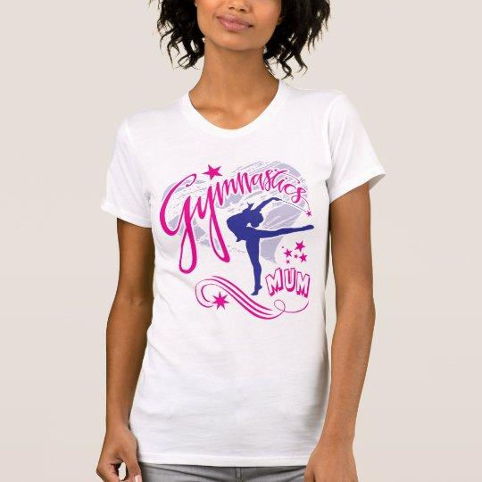 Gymnastik-Mama T-Shirt