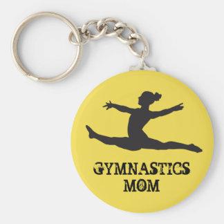 Gymnastik-Mamma Keychain Schlüsselanhänger