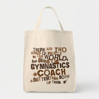 Gymnastik-Trainer-Geschenk Einkaufstasche
