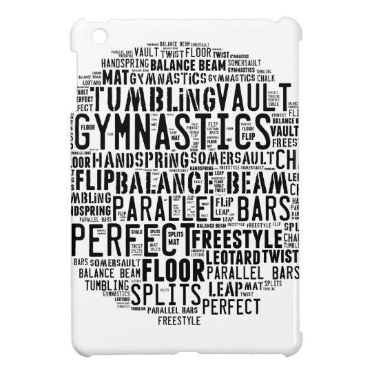 Gymnastik-Wort-Wolke iPad Mini Schale