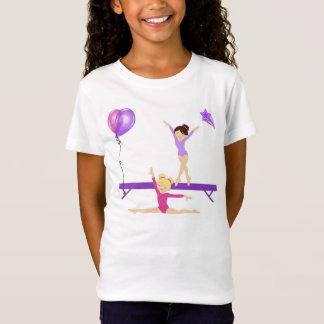 Gymnastisches T-Shirt der Mädchen