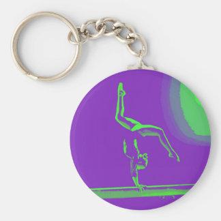 Gymnastschlüsselkette Schlüsselanhänger
