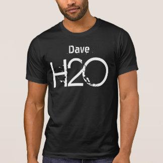 H2O Grunge-Text-individueller Name V17 T-Shirt
