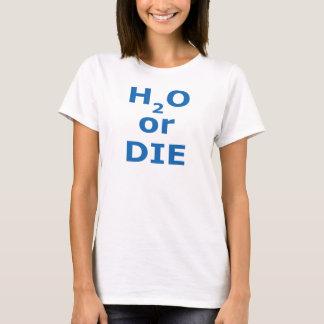 H2O oder die den Hanes ComfortSoft® der Frauen T-Shirt
