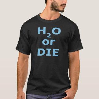 H2O oder die grundlegenden dunklen T - Shirt