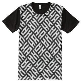 ha ha ha T-Shirt mit bedruckbarer vorderseite