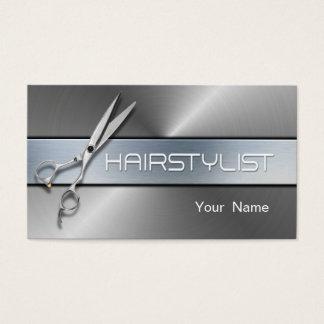 Haar-Stylist - bilden Sie Künstler Visitenkarte