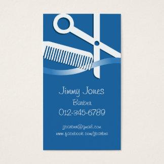 Haar-Stylist-Geschäfts-Karten-Scheren und Kamm Visitenkarten
