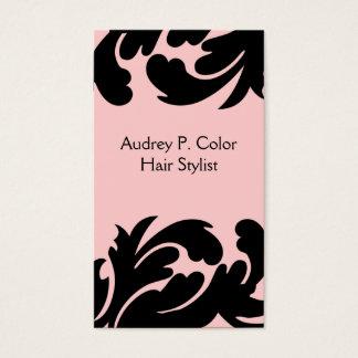 Haar-Stylist-Geschäfts-Karten Visitenkarten