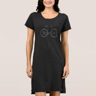 Haarnadel-Sattel-Vintages Fahrrad Kleid