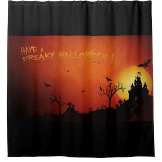 Haben Sie ein Freaky Halloween Duschvorhang