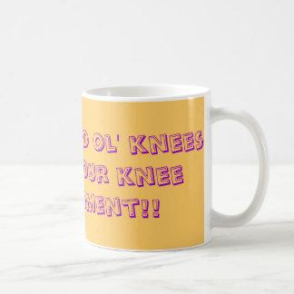 Haben Sie ein gute ol Knie-oben für Ihren Kaffeetasse