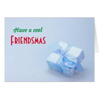 Haben Sie eine coole Friendsmas Karte