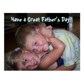 Haben Sie einen großen Vatertag!! Postkarten