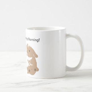 Haben Sie einen Häschen-Morgen! Kaffeetasse