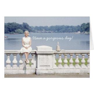 Haben Sie einen herrlichen Tag! - Hyde Park Grußkarte