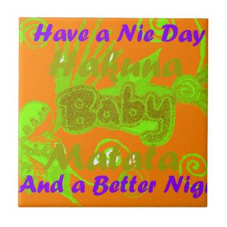 Haben Sie einen Nicce Tag u. ein besseres Keramikfliese